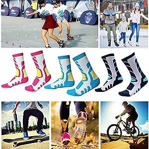 Class-Z Warme Socken,Kinder Skisocken, Skifahren, Wandern, Bergsteigen Und Andere Outdooraktivitäten