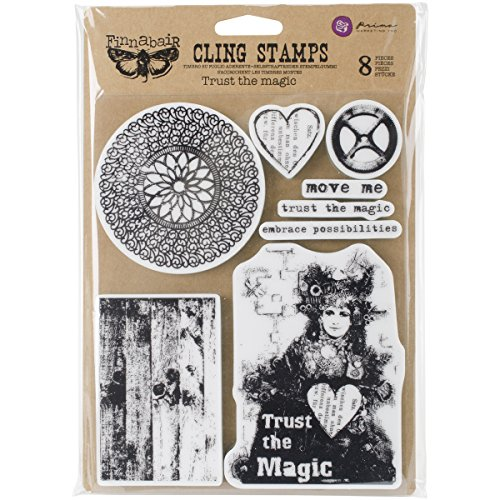 Unbekannt Prima Marketing finnabair selbst Briefmarken 6 x7.5-inch-Trust der Magic -