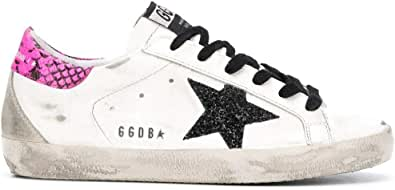Golden Goose Luxury Fashion Donna G36WS590S91 Bianco Pelle Sneakers | Ss21