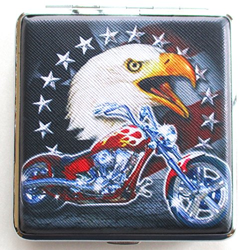 CIGARETTE CASE Chopper Motor Cycle Renegade Classics American Eagle Zigarette Fall -