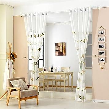 BKFF® Tende moderne in tulle per soggiorno tende da cucina in ...