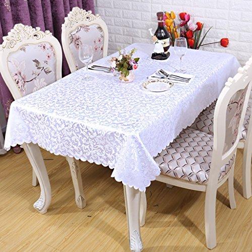 BSNOWF- Nappes Hôtel de style européen Restaurant Tissu de café Tissu de pique-nique de style maison Forme de pelouse bouclée Taille en option ( taille : 140*180cm )