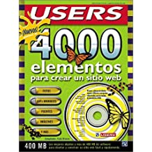 Nuevos 4000 Elementos Para Crear un Sitio Web with CDROM/4000 New Elements for Creating a Web Sit (PC Users)