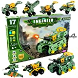 Amigoz Battlefield Little Engineer Mechanical Kit for Juniors [Military Construction Toys Set for Kids] [6 Years Above]