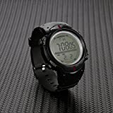 Mens Wrist Watches Sale Clearance Digital Sport Watch Watches For Outdoor Running With 5ATM WaterproofPedometerCalorie CounterDistanceStopwatchAlarm FunctionsBT852