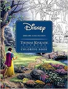 Thomas Kinkade Disney Coloring Pages Disney Dreams Collection Thomas Kinkade Studios Coloring