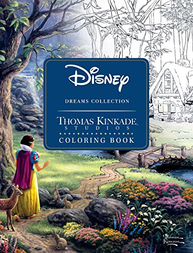 Disney dreams coll coloring book sc -
