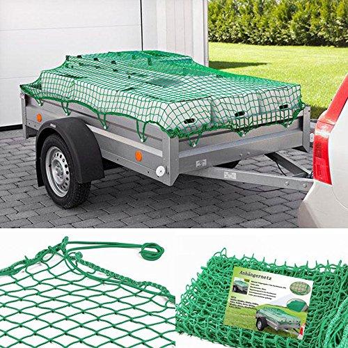 Preisvergleich Produktbild SPEED Anhängernetz Gepäcknetz zur Ladungssicherung 1,5 x 2 m bis 3,5 x 5 m 1,5x3,0m
