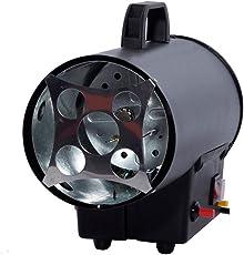 FUXTEC FX-GH10Innen Schwarz 10000W Heizlüfter Ventilator (Lüfter, INNEN, Flur, Schwarz, 10000W, Gas)