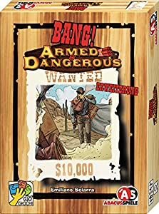 ABACUSSPIELE 38181Bang Armed & Dangerous Ampliación No Juego de Cartas