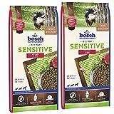 bosch Sensitive Lamm & Reis 30kg (2 x 15kg)
