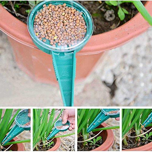 Dealglad® 5 piezas de mano ajustable de balón de Plant semillas de macetero Garden Flower esfera Sembrador siembra su OKEY herramientas de jardinería (color al azar)