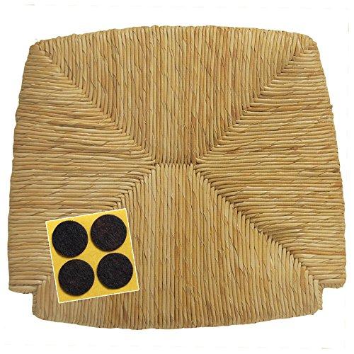Arredasì sedile in paglia di riso (mod. 1212) ricambio per sedia venezia-paesana + feltrini in omaggio