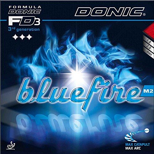DONIC Belag Bluefire M2, 2,0 mm, schwarz