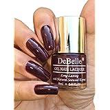 DeBelle Gel Nail Polish Glamorous Garnet (Dark Maroon), 8 ml