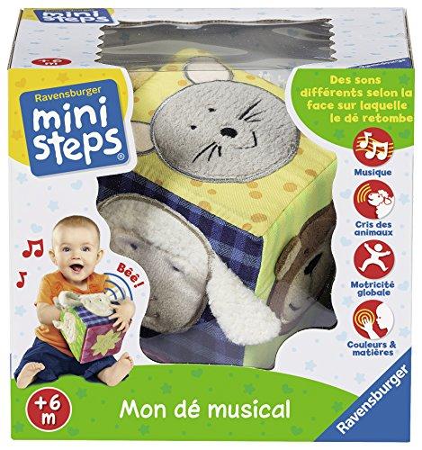 Ravensburger – Ministeps – 04713 – Mein Würfel-Musical – für Kleinkinder(französische Variante)