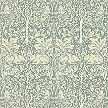 William Morris Brer Rabbit dmorbr103Slate–Papel pintado