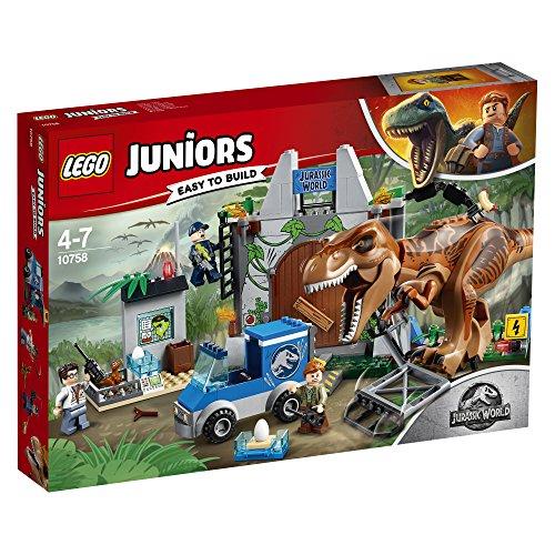 Lego Juniors - L'évasion du tyrannosaure - 10758 - Jeu de Construction