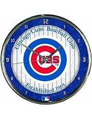 MLB Chrome Clock Chicago Cubs