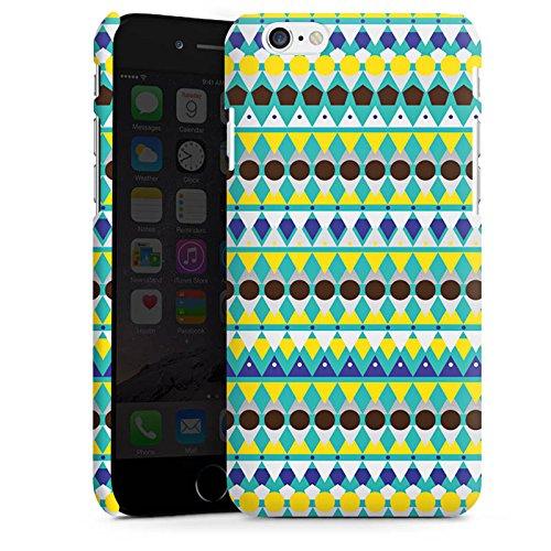 Apple iPhone X Silikon Hülle Case Schutzhülle Dreiecke Tribal Punkte Premium Case matt