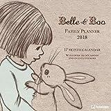 2018 Belle & Boo Family Planner - teNeues Grid Calendar - 30 x 30 cm