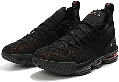 Xvi Cavs Black Red Men Basketball Shoes
