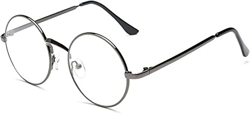 Unique Fashion Clear Round Style Full-frame UV Protection sunglass for Men & Women