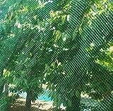 Vogelschutznetz Laubnetz Gartennetz Teichnetz Pflanzenschutznetz 14 Größen (5x10 m)