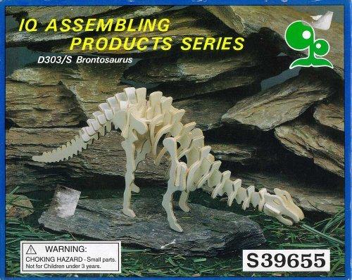 Brontosaurus Dinosaur Model Kit IQ Assembling Products Series D303/S UPC 792363396554 (Model Kit Dinosaur)