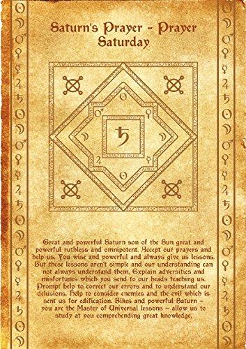 Talisman Scroll Anciano Saturn–Hilfe und Support