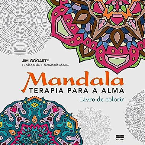 Mandala - Livro para Colorir com Lápis de Cor de Brinde (Em Portuguese do Brasil)