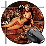 Jennifer Lopez JLo A Tapis De Souris Ronde Round Mousepad PC