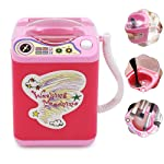 Automatic Makeup Brush Cleaner, lesgos Electronic Cleaning Machine Washing Tools Dries Deep Cleaning for Brushes, Sponge...