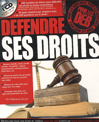 Défendre ses droits pour les deb (1CD audio)