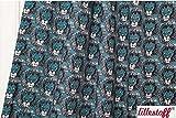 Lillestoff Bio Sumersweat/Lions / Meterware / 50x150 cm