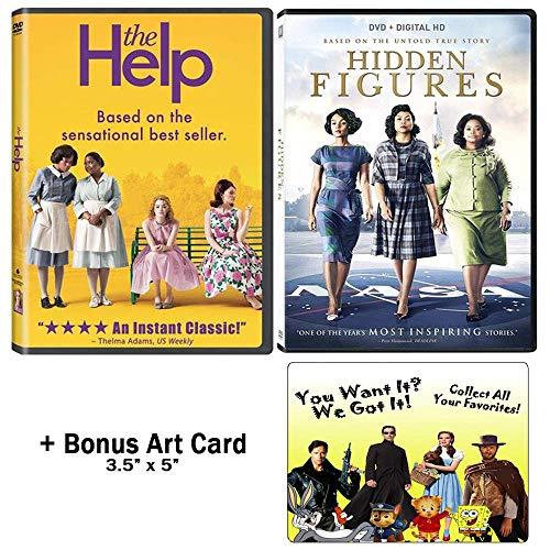 The Octavia Spencer Collection: 2 Movies (The Help / Hidden Figures) + Bonus Art Card