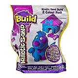 Kinetic Sand – Kinetischer Sand zum Bauen – 2 Farben – Blau & Lila