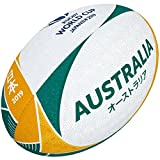 Gilbert Coupe du Monde de Rugby Japon 2019Boule de Supporter de l'Australie 5 Multicolore...