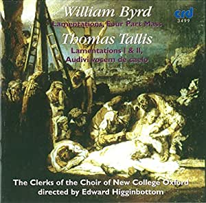 William Byrd - Thomas Tallis : Musique sacrée