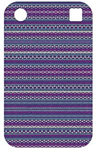 Tribal Patterns White Back Cover Case for Blackberry Bold Touch 9900