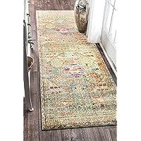 Suchergebnis Auf Amazon De Fur Vintage Grun Teppiche Matten