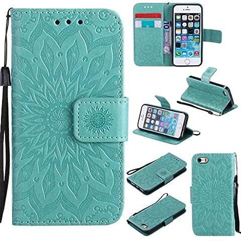 iPhone 6S Coque, Kkeiko® iPhone 6/iPhone 6S Flip Leather Case