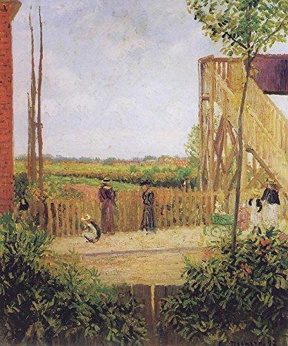 Das Museum von Ausgang-Die Brücke Grapevine Bedford Park, 1897-Format A3-Poster