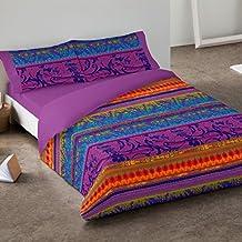 Burrito Blanco - Juego de funda nórdica 342 Multi, para cama de 150 x 190/200 cm.