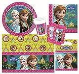 Procos 10105465 Kinderpartyset Disney Die Eiskönigin,Größe XXL