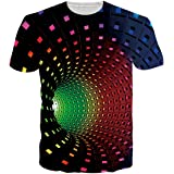 Rave on Friday T Shirts for Men Adult 3D Print Summer Short Sleeve Tshirts Casual Tops Tees