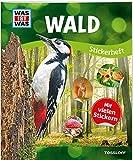 WAS IST WAS Sticker-Heft Wald: Über 150 Pflanzen und Tiere, mehr als 100 Sticker