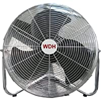 Aktobis Bodenventilator WDH-FE50X (XXL Ø = 50 cm) *Metall*
