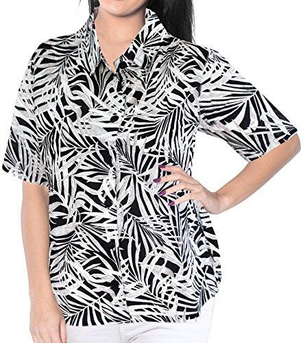 Vestido-de-La-Playa-de-La-Camisa-Hawaiana-de-Manga-Corta-Blusa-Encubrir-Tirantes-Mujeres-Mangas-de-Las-SeOras