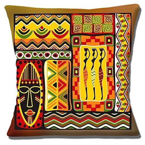 Afrikanische Stammes- Damen ethnisch Muster Maske Multi - 16